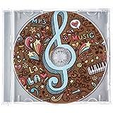 CD de chocolate con caja de regalo - Música - 45 g