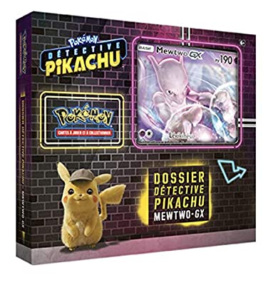 Pokémon - Collection Detective Pikachu Coffret 6 boosters 'Mewtwo-GX' 190 PV - Version Francaise