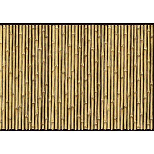 Amscan International Scene Setter Bambus-Rolle, im Hawaiistil