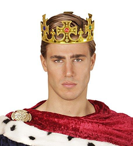 one mit Edelsteinen König Kaiser Prinz Crown Corona Deluxe ()