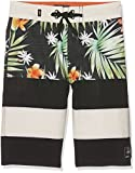 Vans Jungen Badehose ERA Boardshort, Mehrfarbig (Black Decay Palm KVR), 140 (Herstellergröße: 25)