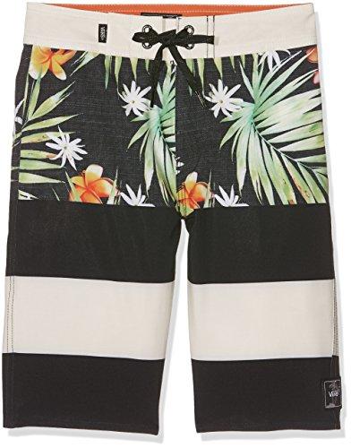 vans-boys-era-boardshort-swim-trunks-multicoloured-black-decay-palm-kvr-170-manufacturer-size-30