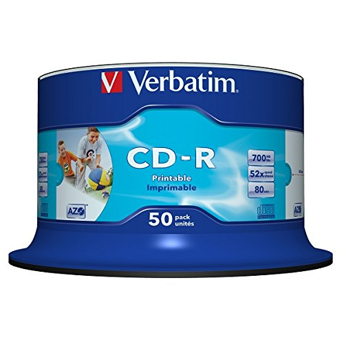Verbatim CD-R Wide Printable Sur...