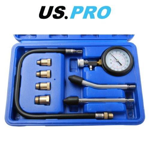 AB Tools-US Pro Lessence et Le Carburant Diesel testeur de Pression de Pompe//m/ètre 0-145 PSI AU241