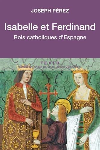 Isabelle et Ferdinand, rois catholiques d'Espagne