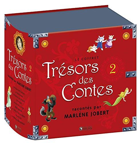 Coffret Trésors des contes 2: racontés par Marlène Jobert par Marlène Jobert