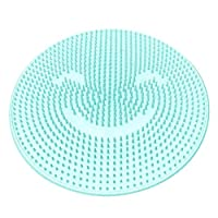 Fotica Silicone Bath Massage Pad, Feet Massage Cushion Brush Anti-Slip Lazy Washing Feet Cleaning Dead Skin Shower Back Massage Cushion