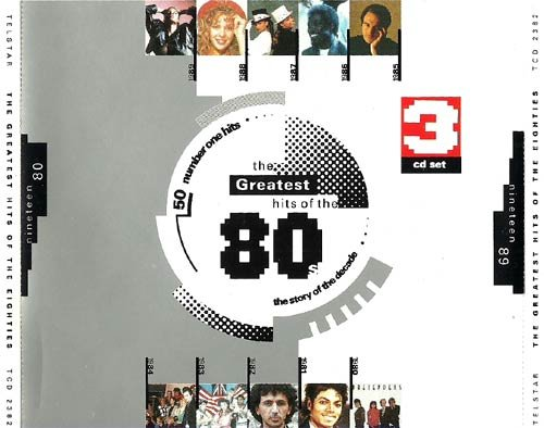 50 Songs from the 80s (CD-Box, amazing Smashes taking you back in time) Steve