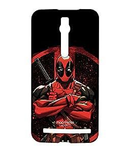 Deadpool Stance - Sublime Case for Asus Zenfone 2