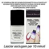 Cose di Donna Peel Off Gel liquide Amovible Anti-débordement - Protection des doigts et de la peau - pour Nail Art au Stamping et à l'Aérographe - Fabrication italienne