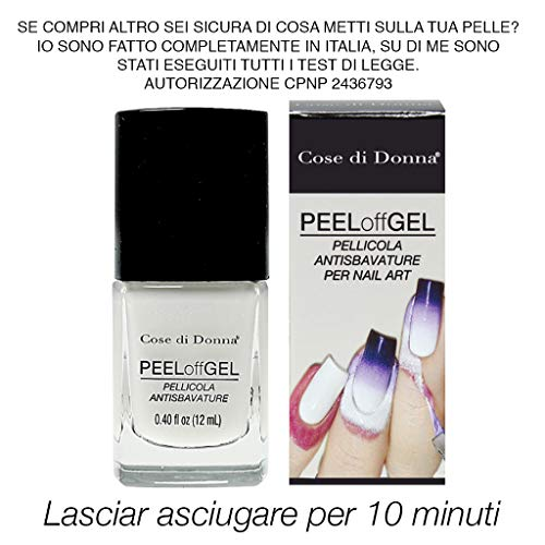 Peel Off Gel Esmalte desmontable protector