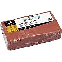Pébéo 766301 Modelado Arcilla sin cocción Rojo, pan de 1,5 kg