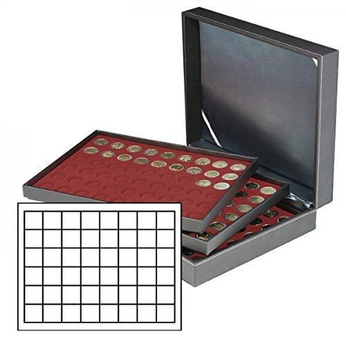 Lindner 2365-2748E Estuche monedas NERA XL para 144 placas de cava - r
