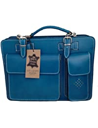 CTM Blue Man cartera del bolso del organizador, 35x25x12cm 100% Made in Italy