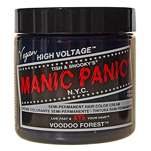 Manic Panic High Voltage Classic Creme Formel Haarfarbe 118ml (Voodoo Forest)
