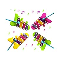 JYC Novelty Toys Clearance.Sale Kids Baby Musical Educational Animal Developmental Music Bell Toy 4 Tone