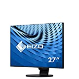 EIZO FlexScan EV2785 27' 4K Ultra HD LED Plana Negro Pantalla para PC - Monitor (68,6 cm (27'), 3840 x 2160 Pixeles, 4K Ultra HD, LED, 14 ms, Negro)