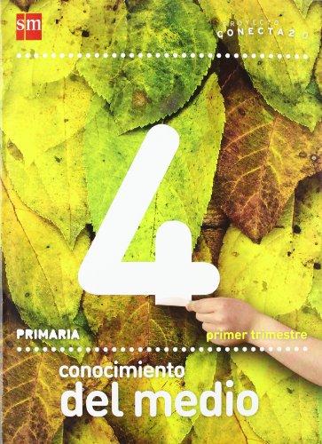Conocimiento del medio. 4 Primaria. Conecta 2.0. Andalucía. Trimestres - 9788467554953