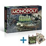 .Winningmoves. Monopoly Cthulhu Spiel Gesellschaftsspiel Brettspiel + Spielkarten