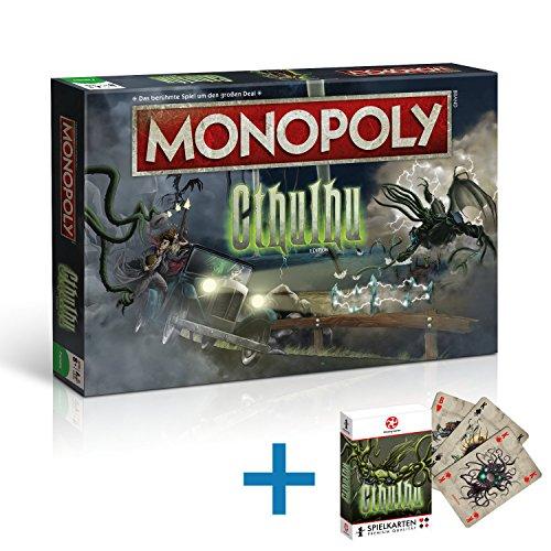 Monopoly Cthulhu Spiel Gesellschaftsspiel Brettspiel + Spielkarten
