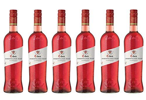 Erben Dornfelder Rosé halbtrocken (6 x 0.75 l)