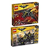 The Lego Batman Movie 2er Set 70916 70917 Batwing + Das ultimative Batmobil
