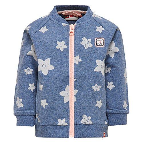 LEGO Wear Baby-Mädchen Sweatshirt Duplo Stina 302-Sweatjacke, Blau (Blue Melange 851), 92