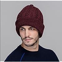 sheng Hiver laine épais chapeau de laine hedging oreille tricot chapeau chaud