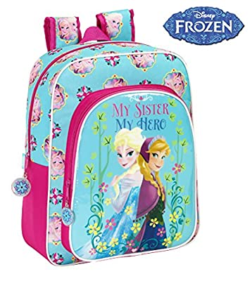 Disney Frozen - Mochila junior adaptable, 32 x 38 cm (Safta 611515640) de Safta