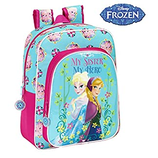 51owVTEcRRL. SS324  - Disney Frozen - Mochila Junior Adaptable, 32 x 38 cm (SAFTA 611515640)