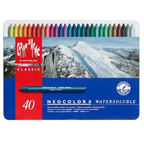 Caran d´Ache Kreide 40 Farben -