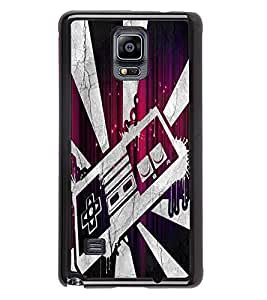 Fuson 2D Printed Designer back case cover for Samsung Galaxy Note 4 - D4506