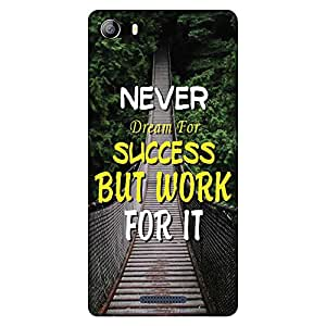 Bhishoom Printed Hard Back Case Cover for Micromax Canvas 5 E481 - Premium Quality Ultra Slim & Tough Protective Mobile Phone Case & Cover