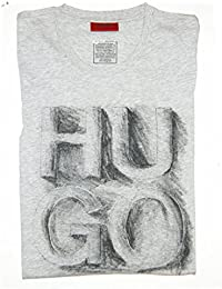 HUGO T SHIRT DONTI FARBE HELLGRAU 063 GR: S