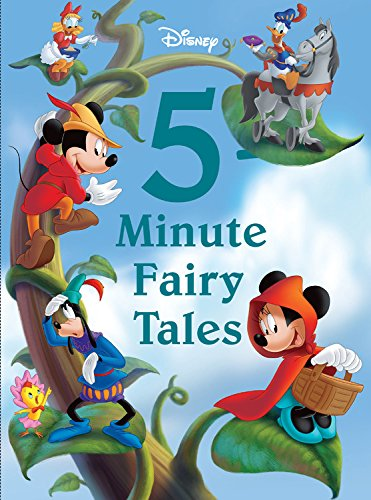 Disney 5-Minute Fairy Tales (5-Minute Stories) por Disney Book Group