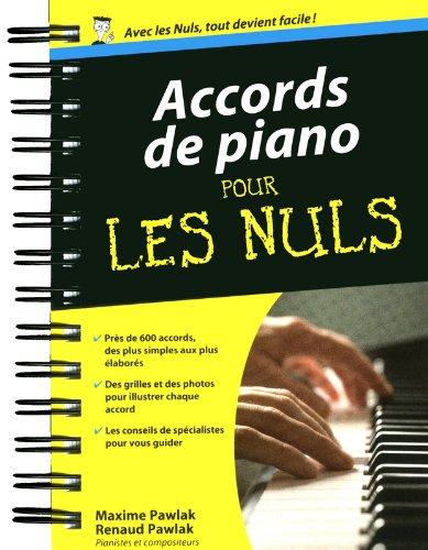 Accords de piano pour les Nuls par Maxime PAWLAK