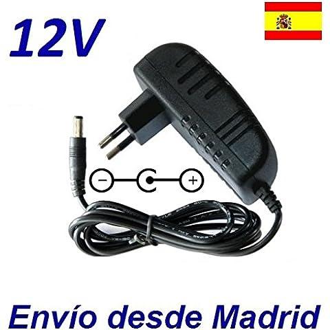 Cargador Corriente 12V Reemplazo Disco Duro Conceptronic CSM3PL Recambio Replacement