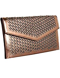 8cd0e6102244 Red Cuckoo London Circular Detail Clutch Bag