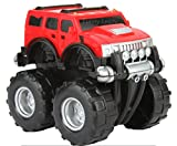 #10: Funny Teddy Unbreakable Automobile Hummer Car Toy Set (Small car - 23 cm ) | Monster truck | Birthday Gift -(Red)