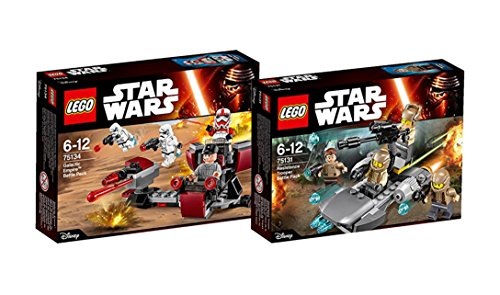 Lego Star Wars Set - 75134 Galactic Empire Battle Pack mit Stormtrooper + 75131 Confidential Battle Pack Episode 7 Heroes