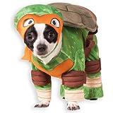 Disfraz de Michelangelo Tortugas ninja para perro - L