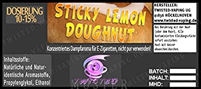 Twisted Aroma Sticky Lemon Doughnut von Twisted Vaping