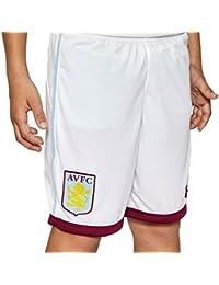 2016-2017 Aston Villa Home Football Shorts (White) - Kids