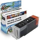 5X Druckerpatrone Kompatible für Canon PGI-550 XL CLI-551 XL Schwarz für Canon Pixma MG5400 MG5450 MG5550 MG5650 MG6450 MG6650 MG7500 6350 7150 MG7550 MX725 MX925 IX6850 IP7200 IP7250 IP8750 IP7150