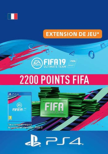 FIFA 19 Ultimate Team - 2200 FIFA Points | Code Jeu PS4 - Compte français