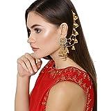 YouBella Earrings for Women Stylish Jewellery Traditional Fancy Party Wear Jhumka/Jhumki Earrings for Girls and Women