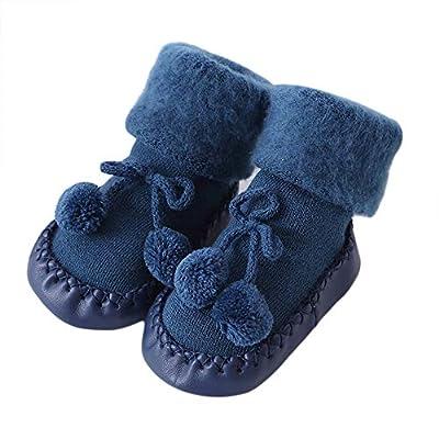 PLOT?Baby Cotton Socks Newborn Non Skid Floor Socks for Girls Boys Kids Toddlers 0-24M : everything 5 pounds (or less!)