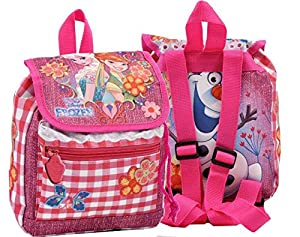 CORIEX d92995Frozen Glam Sister Backpack with a Flap, Color Rosa