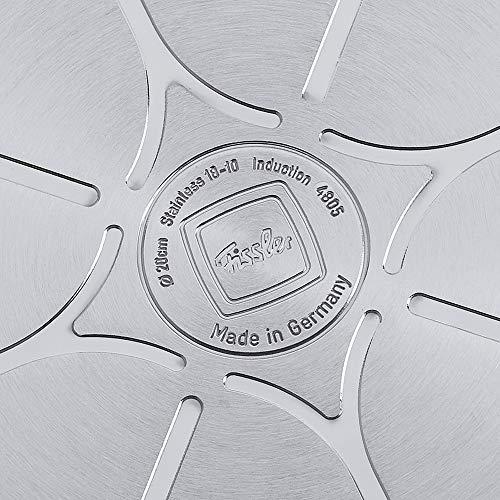 Fissler Bratpfanne original-profi collection / Edelstahl Schmorpfanne ideal zum krossen Braten / induktionsgeeignet / 084-368-20-100/0 / Ø 20 cm