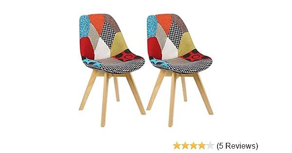 WOLTU BH29mf 2 2 X Esszimmerstühle 2er Set Esszimmerstuhl Design Stuhl  Küchenstuhl Holz: Amazon.de: Küche U0026 Haushalt